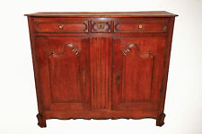 Antique French Country Normandy Server/Cabinet, Attractive Clean Lines