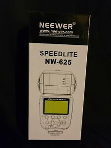Neewer NW625 GN54 Speedlite Flash for Canon Nikon Olympus Pentax Fijifilm DSLR