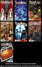 Captain America & The Mighty Avengers 1 4 5 6 7 8 9 Complete Set Run Lot VF/NM