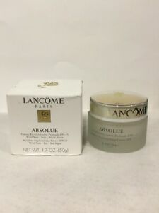 Lancôme Absolue Absolute Replenishing Cream SPF15 Wild Yam Soy Sea Algae 1.7 oz.