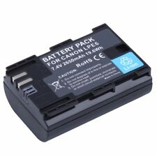 LP-E6 LPE6 Camera Battery For Canon EOS 5DS 5D Mark II Mark III 6D 7D 60D 60Da