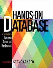 Hands-On Database : An Introduction to Database Design and Development by Steve…