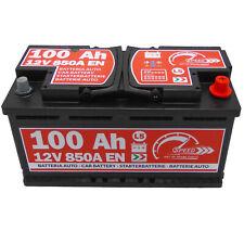 Autobatterie 12V 100Ah 850A Speed Starter Batterie statt 90Ah 92Ah 95Ah 110Ah