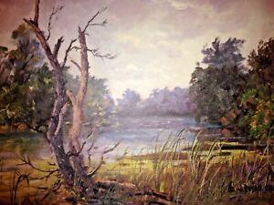 Dusan Ciran Original Pencil Signed Illinois American Impressionist Screen Print