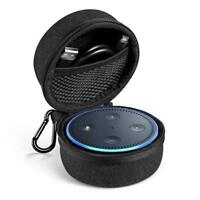 Ugreen Echo Dot Case 2nd Travel Carrying Case Cover Cable Organizer for Camping