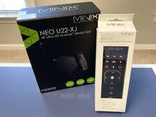 Minix NEO U22-XJ Android 9.0 4K @ 60Hz TV BOX S922X-J 4GB/32GB 4K + A3 Remote