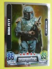 Force Attax Star Wars Serie 2 (2013, grün), Boba Fett (204), Star-Karten