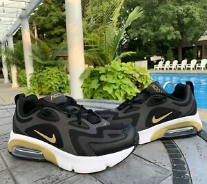 Nike Air Max 200 Black Size 5 Athletic Shoes AT5627-003 Youth 5Y