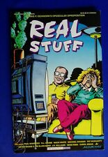Real Stuff 20 Eichorn, Bagge, et al Underground. Fantagraphics. 1st VFN