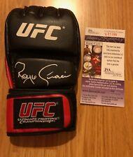 ROYCE GRACIE SIGNED AUTOGRAPHED UFC GLOVE WWE WRESTLING  COA MMA PHOTO