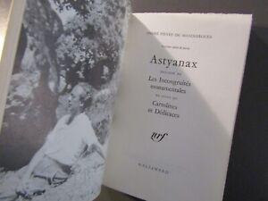 ANDRÉ PIERRE DE MANDIARGUES-ASTYANAX-1964-ÉDITION ORIGINALE N° VELIN-LITTERATURE