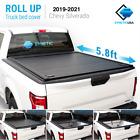 Waterproof Aluminum Retractable Tonneau Truck Cover 2019-2021 Silverado 5.8ft