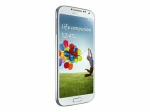 Samsung Galaxy S4 - SGH-I337 - 16GB - Frost White - AT&T - Smartphone Used
