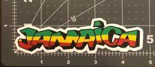 Jamaica Humor Skateboard Laptop Guitar Decal Sticker