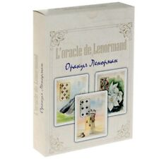 L'Oracle de Lenormand Golden Flowers 36 cards + manual in russian Gift Edition