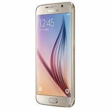"""Doré 32 Go Samsung Galaxy S6 SM-G920A 5.1"""" Débloqué d'usin Smartphone TéléPhone"""