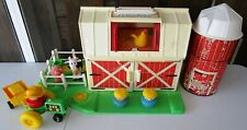 VINTAGE FISHER PRICE 2555 CHUNKY LITTLE PEOPLE FARM - 1990