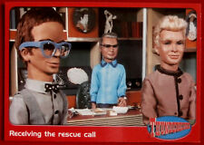 THUNDERBIRDS - Receiving the Rescue Call - Card #22 - Cards Inc 2001