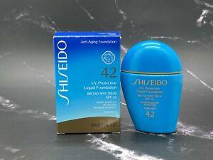 Shiseido Anti Aging Liquid Foundation UV Protective Spf 42 - Light Beige - 1 oz