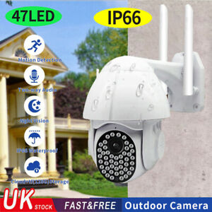 HD 1080p Wifi Wireless CCTV Security Camera Systems Outdoor Night Vision Moniter