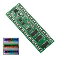 RGB MCU Display Pattern Dual Channel 24 LED VU Level Indicator Meter CA