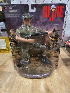 "J2) NEW 1998 G.I. Joe USMC Boot Camp 12"" Fully Posable Figure Marines Military"