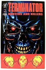 """THE TERMINATOR- HUNTERS AND KILLERS"" Issue #1 (Mar, 1992) (Dark Horse Comics)"