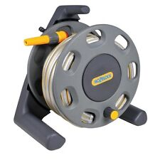 NEW MULTI PURPOSE HOZELOCK 25M HOSE & REEL / GARDEN WATERING EQUIPMENT 2412