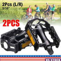 "1Pair MTB Bike Aluminium Alloy Mountain Bicycle Cycling G7L3 9//16/"" Access L7T3"