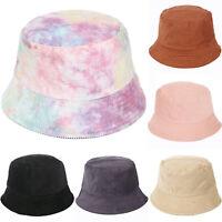 CORDUROY BUCKET HAT VINTAGE FESTIVAL COLOUR HATS CAP BEANIE RAVE DANCE SUN