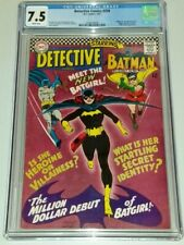 DETECTIVE COMICS #359 CGC 7.5 WHITE PAGES 1ST APPEARANCE OF BATGIRL 1967 (SA)