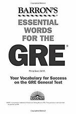 Essential Words for the GRE by Geer, Philip