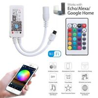 WiFi RGB RGBW LED Controller for 3528 5050 LED Strips Light Alexa Google Home