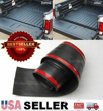 6' Rubber Truck Bed Tailgate Gap Cover Filler Seal Shield Lip Cap For GMC Trucks