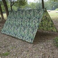 Waterproof Rain Fly Tent for Canopy Hammock Outdoor Camping Tarp Sun Shelter