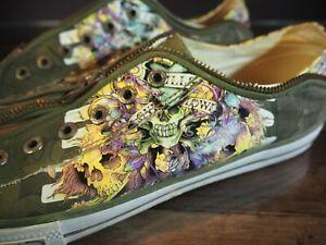 Don Ed Hardy Mens shoes Size US 13 EU 46 Low top Laceless