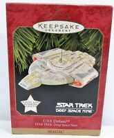 Hallmark Keepsake Star Trek Deep Space 9 U.S.S. Defiant 1997 Lighted Ornament