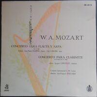 Mozart - Concert For Flute & Harp, RAMPAL, LASKINE, PAILLARD, Erato MONO