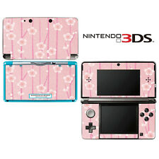 Vinyl Skin Decal Cover for Nintendo 3DS - Pink Flower Blossom