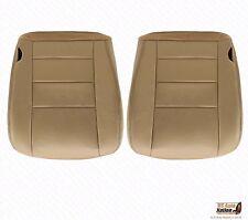 2002-2007 Ford F250 F350 Lariat Driver& Passenger Seat Cover Parchment TAN VINYL