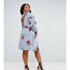 Asos Curve Shirt Dress Brand New Without Tags Size 14/16