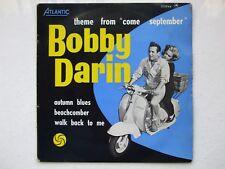 BOBBY DARIN - COME SEPTEMBER OST FRANCE EP 7/45 VESPA PIAGGIO SCOOTER LAMBRETTA