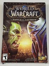 World Of Warcraft: Battle For Azeroth (Pc Game) -New Damaged Box - Expansion Set