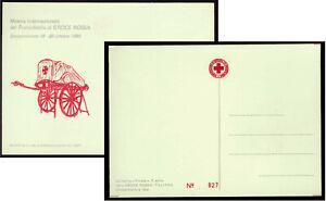 Croce Rossa Antica Barella Campomorone Genova del 1921 Cartolina Filatelica 1980