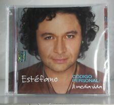 Estefano Codigo Personal A Media Vida CD Nuevo New Sealed