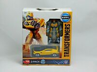 Transformers M5 Bumblebee, Action Figure with Car, Dickie Toys, 2 Pack