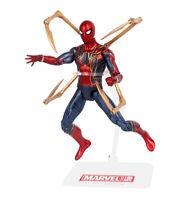 17cm Iron Spider Spider-man Avengers Infinity War Anime Action Figure Model