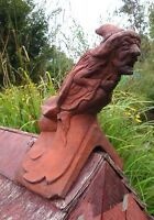 Witch Roof finial 90° decorative stone ridge tile