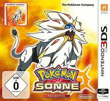 Pokémon Sonne Fan Edition (Steelbook) (Nintendo 3DS, 2016)