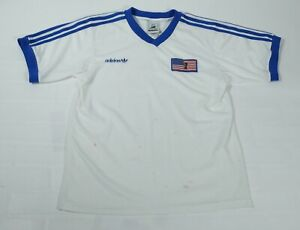 Vintage Adidas Fifa World Cup France 98 USA Jersey Sz M